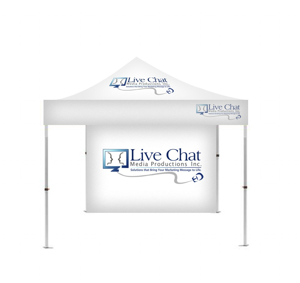 CANOPY TENTS – Live Chat Media