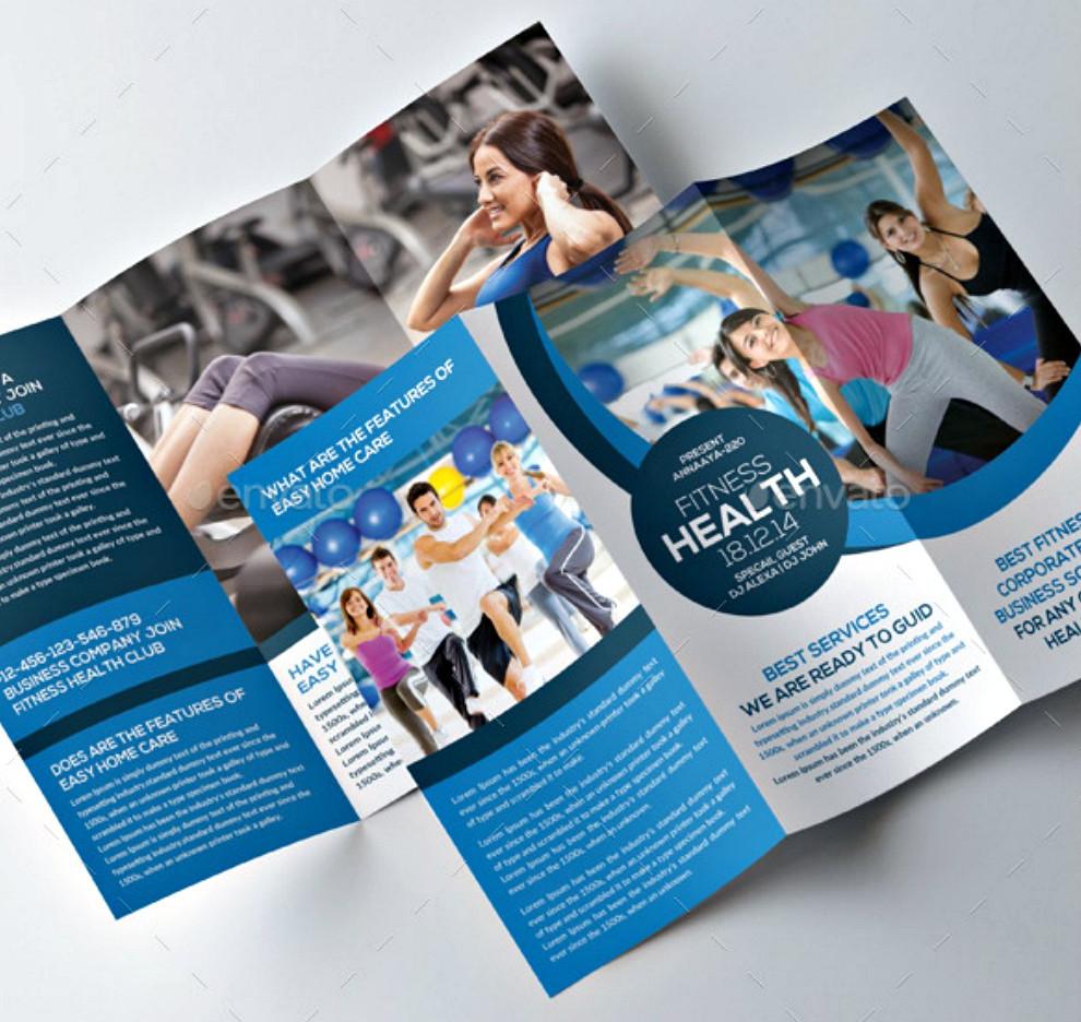 Product Tri Fold Brochure: Live Chat Media