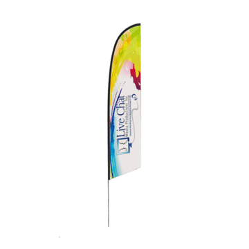 curved top flag